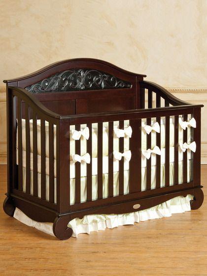 Bratt Decor Espresso Chelsea Lifetime Crib Cribs Nursery