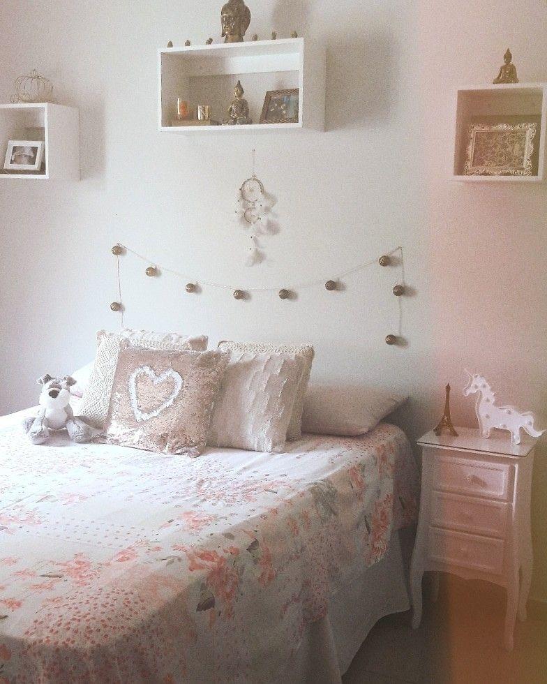 My Bedroom Decor Cozy Rose Gold Grey White