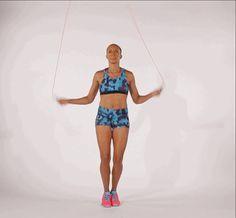 7 sauts à faire à la corde à sauter pour muscler le corps ...