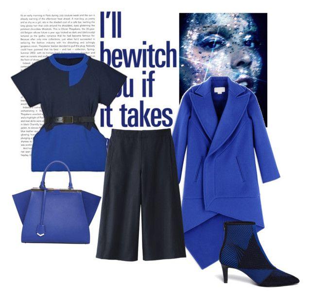 """""""Blue"""" by valentina-delia on Polyvore featuring moda, Antonio Berardi, Uniqlo, Ash e Fendi"""