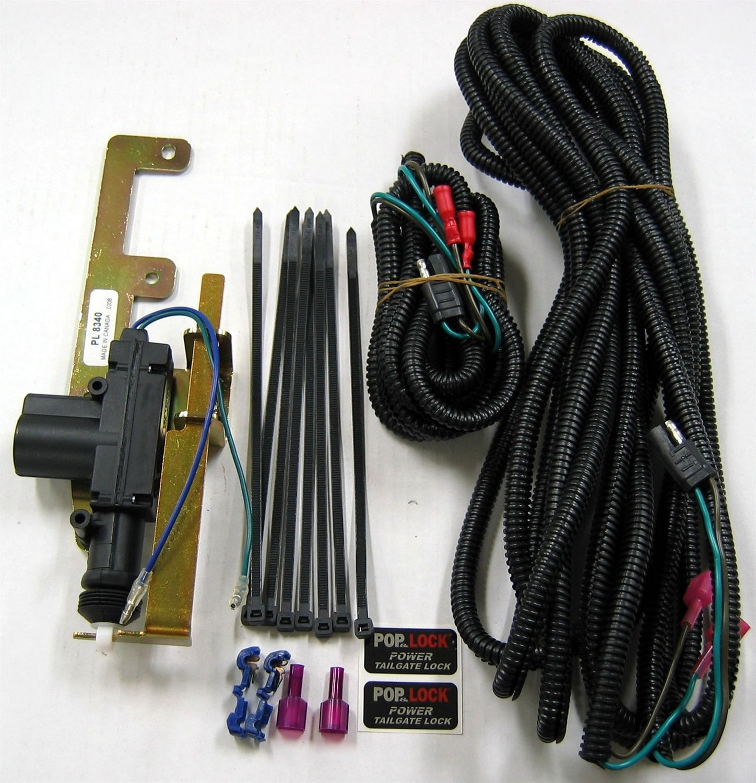 small resolution of pop and lock pl8340 power tailgate lock fits 02 09 ram 1500 ram 2500 ram 3500