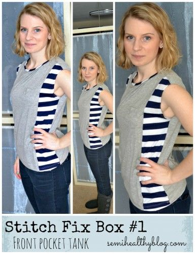 Color blocking with patterns! Stitch Fix