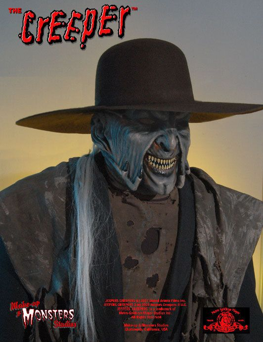 Jeepers Creepers Creeper Halloween Mask Hat Combo Jeepers Creepers Jeepers Creeper Costume