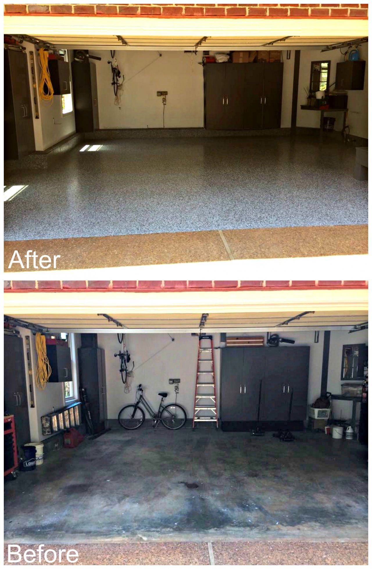 Garage Floor Tiles Vs Epoxy Gooddesign