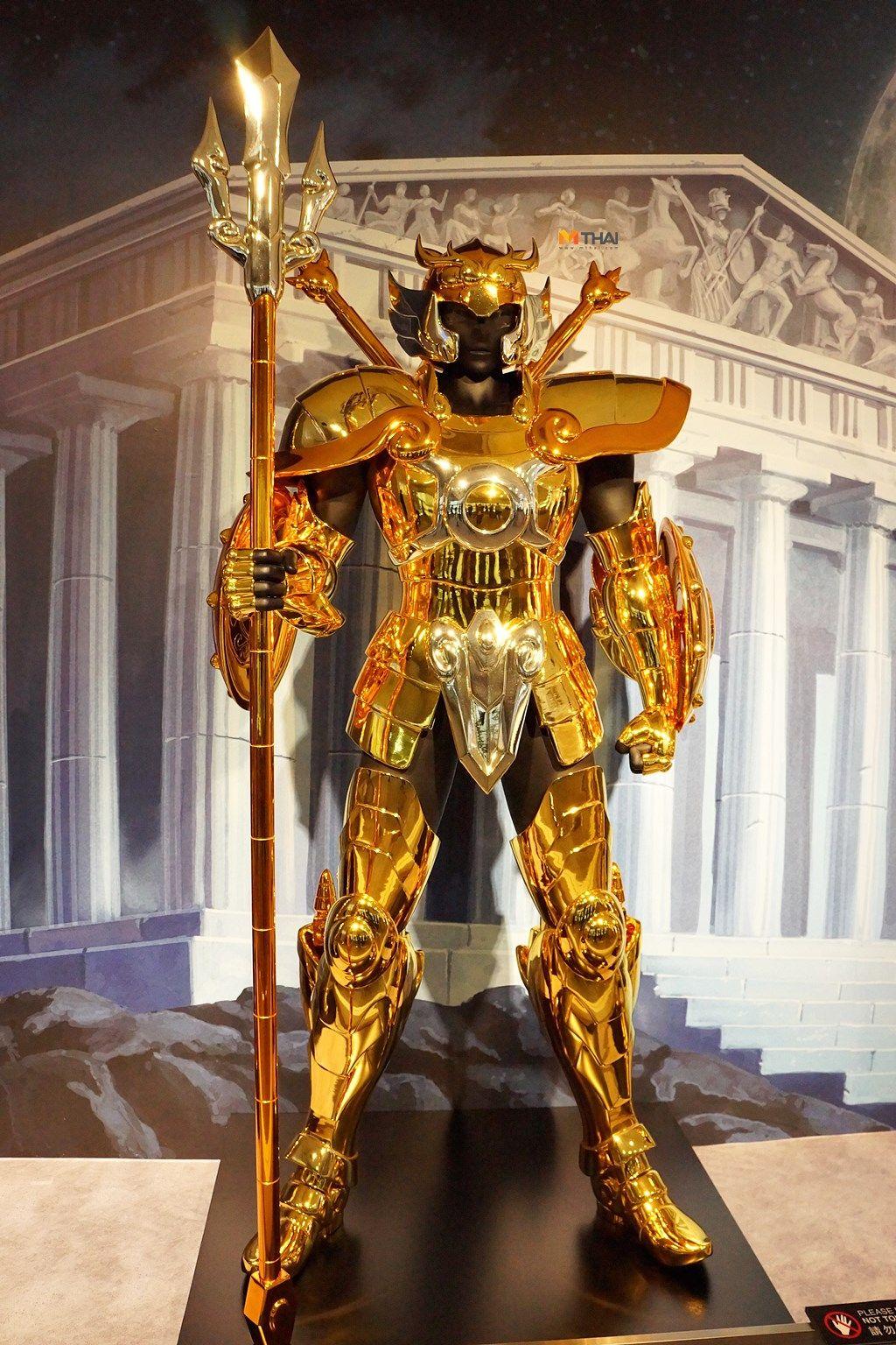 Рыцарь в золотых доспехах картинки