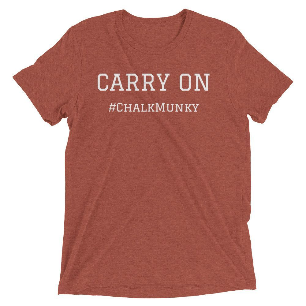 """Carry On"" Short Sleeve Tri-Blend Tee's"