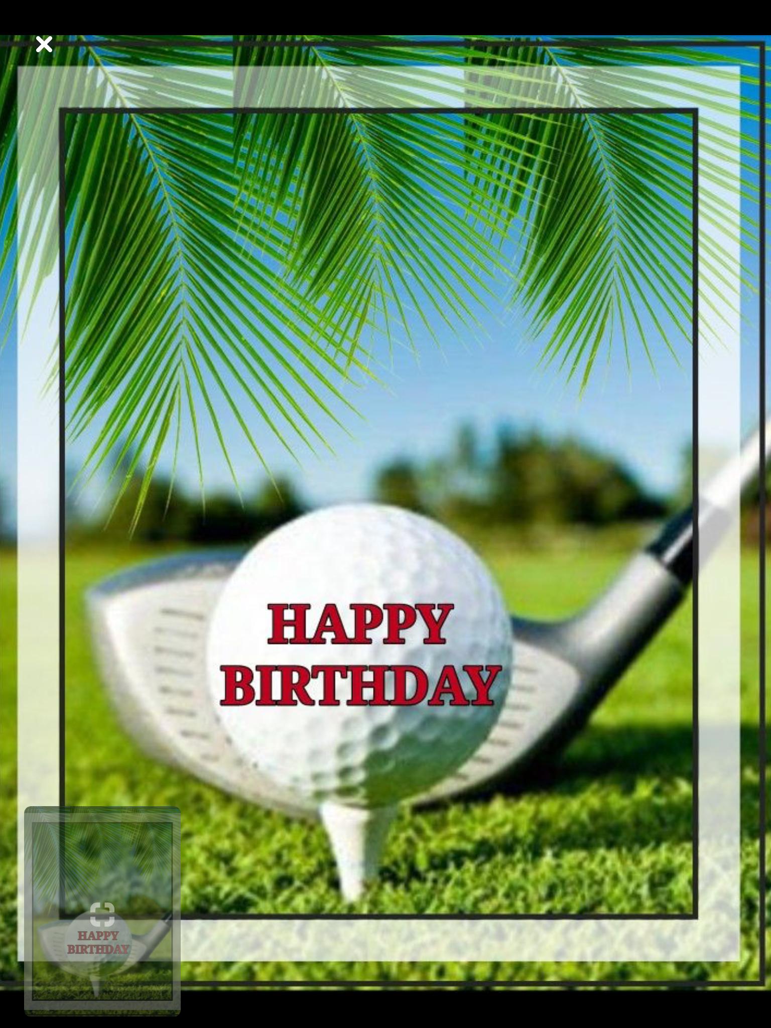 Pin By Marlies Luyten On Verjaardag Happy Birthday Golf Birthday Wishes Happy Birthday