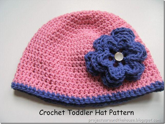 Toddler hat crochet pattern
