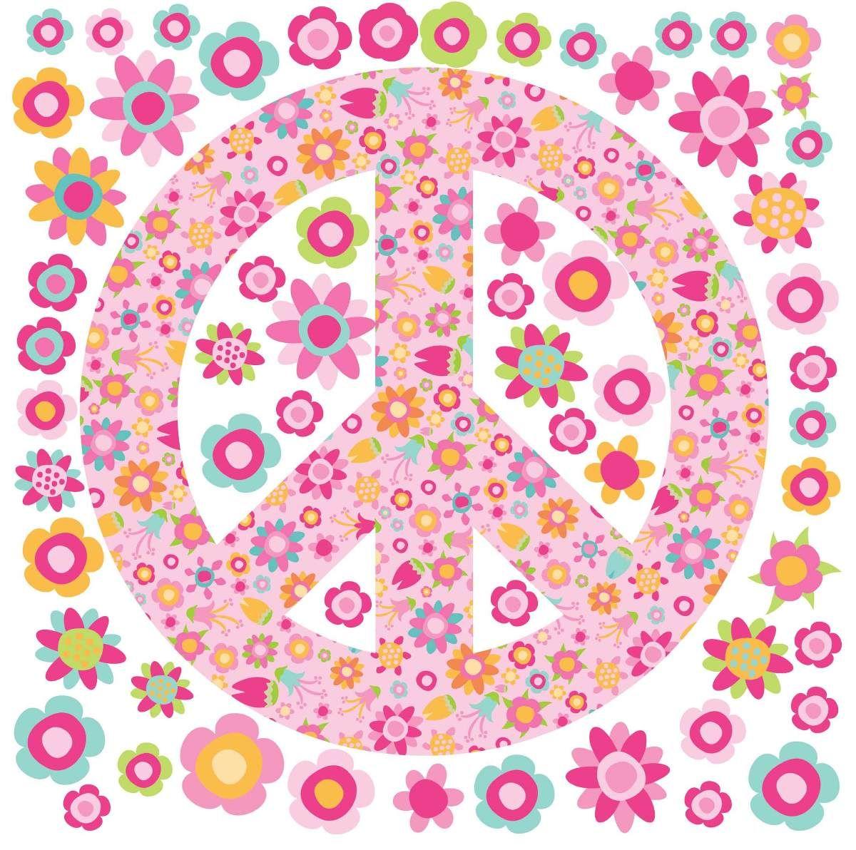 Simbolo Paz De Flores Buscar Con Google Candy Bar Pinterest  ~ Papel De Parede Hippie Para Quarto