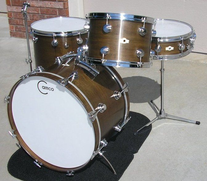Camco Drums In Classic Walnut Stain Drums Drum Kits Percussion