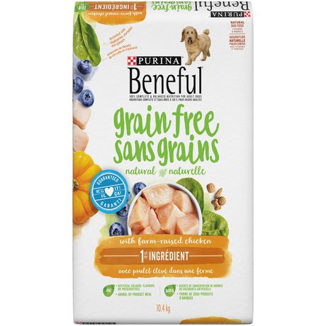 Purina Beneful Grain Free Adult Dog Food With Real Farm Raised