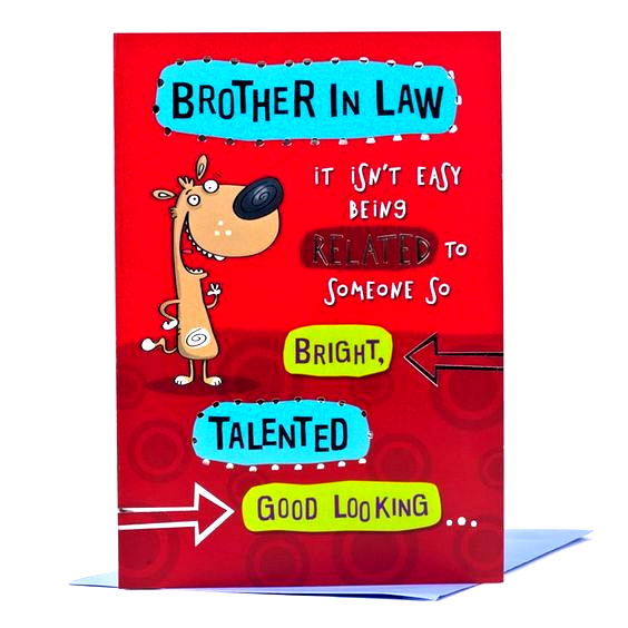 Wishes for Brother In Law Elegant Birthday Card Bro in