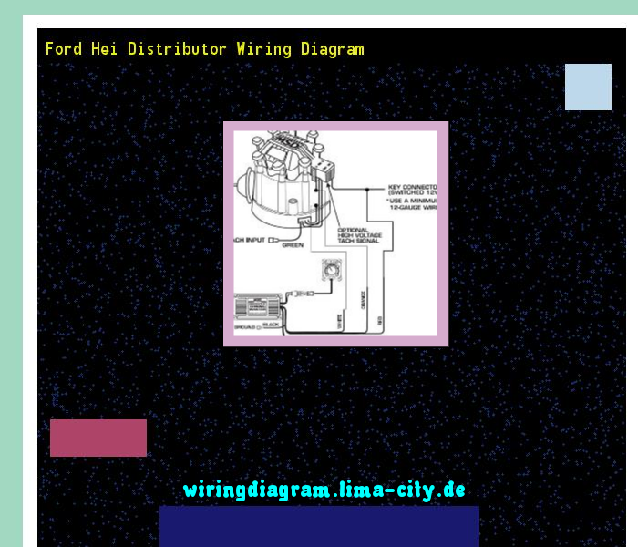 Ford Hei Distributor Wiring Diagram Wiring Diagram 17518 Amazing Wiring Diagram Collection Ford Diagram Wire