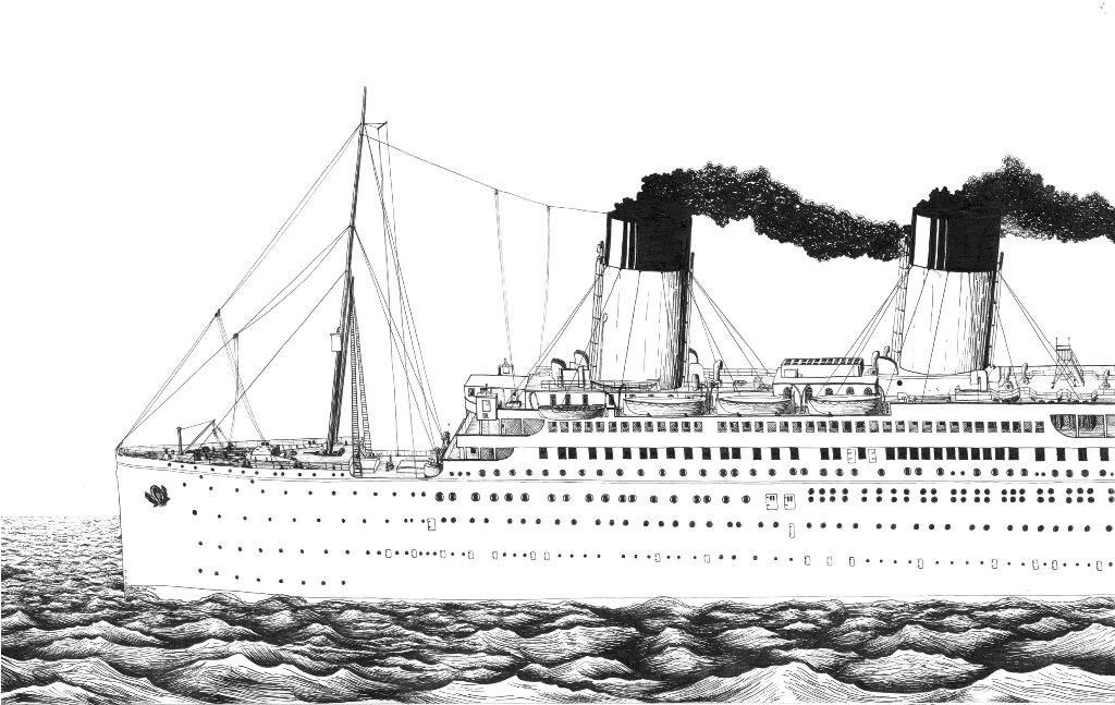 titanic coloring pages   Google Search