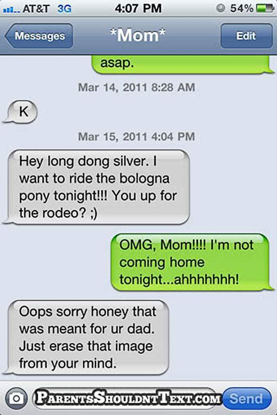 29 Funny Text Messages from Mom & Dad   just funny   Funny ...