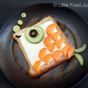 Sandwichs con Forma de Peces.   Oh My Comida de Fiesta!