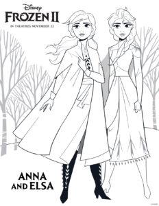 Dibujos Para Colorear Y Pintar Gratis De Frozen 2 De Disney Dibujos Para Colorear Frozen Para Pintar Dibujos De Frozen