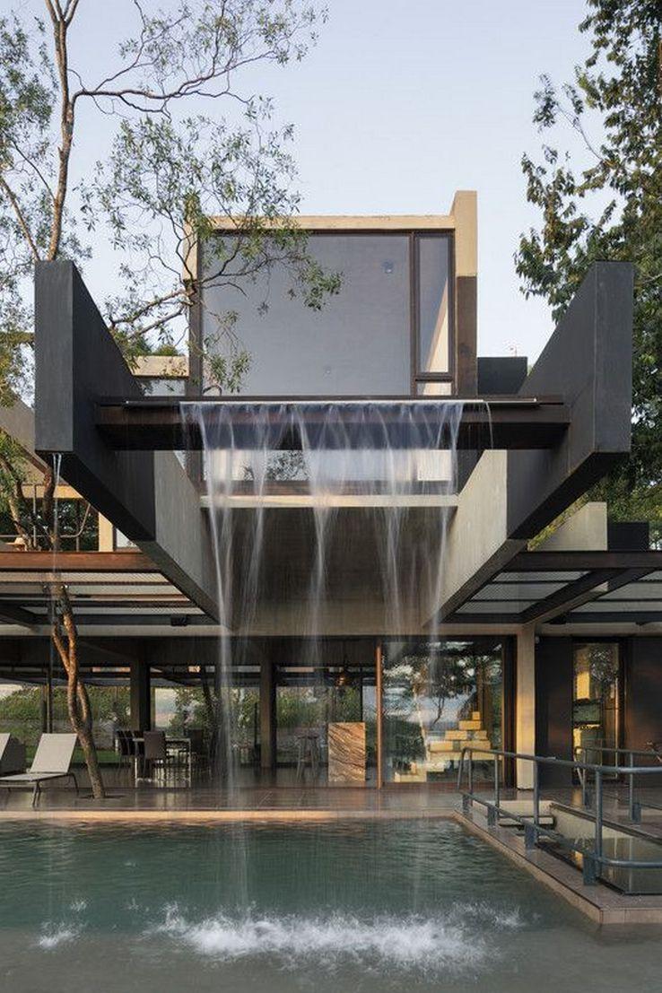 100 Impressive Hillside House Design Models 107 In 2020 Hillside