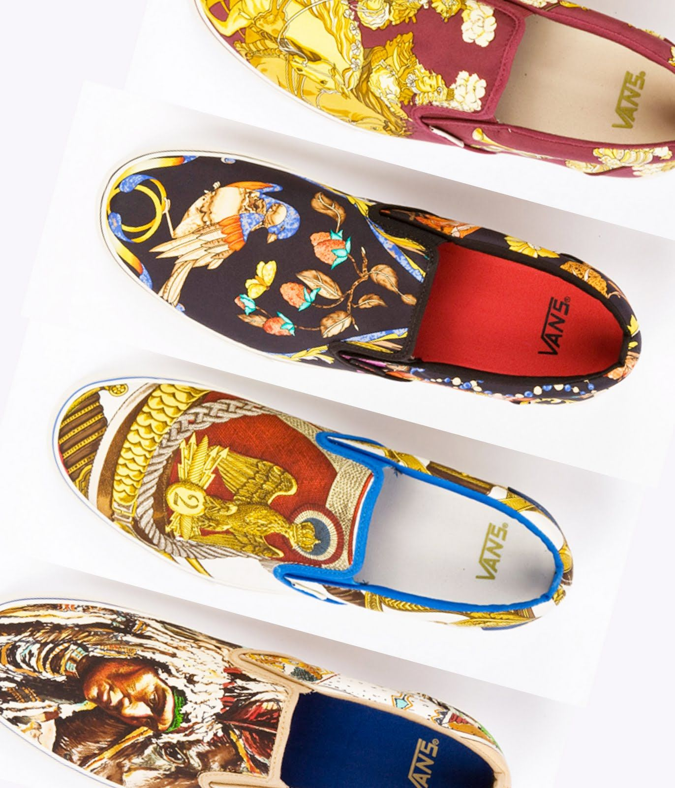 Vans x Hermes - I don't think I'd wear these, but damn!