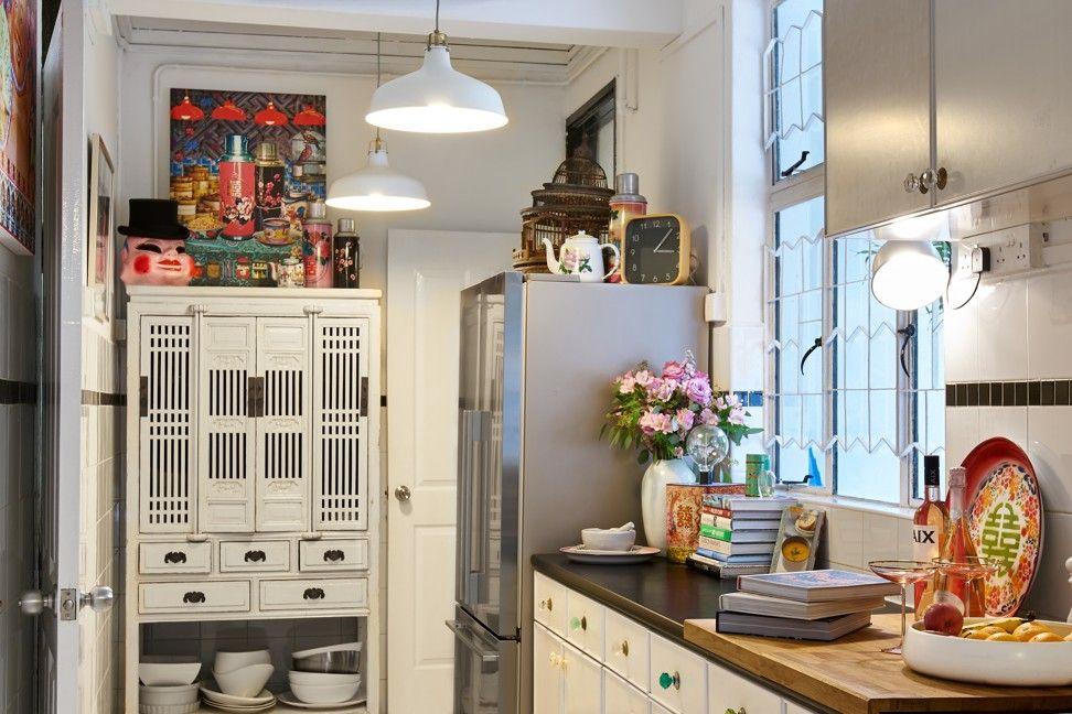 Singapore's blackandwhites typically had small kitchens
