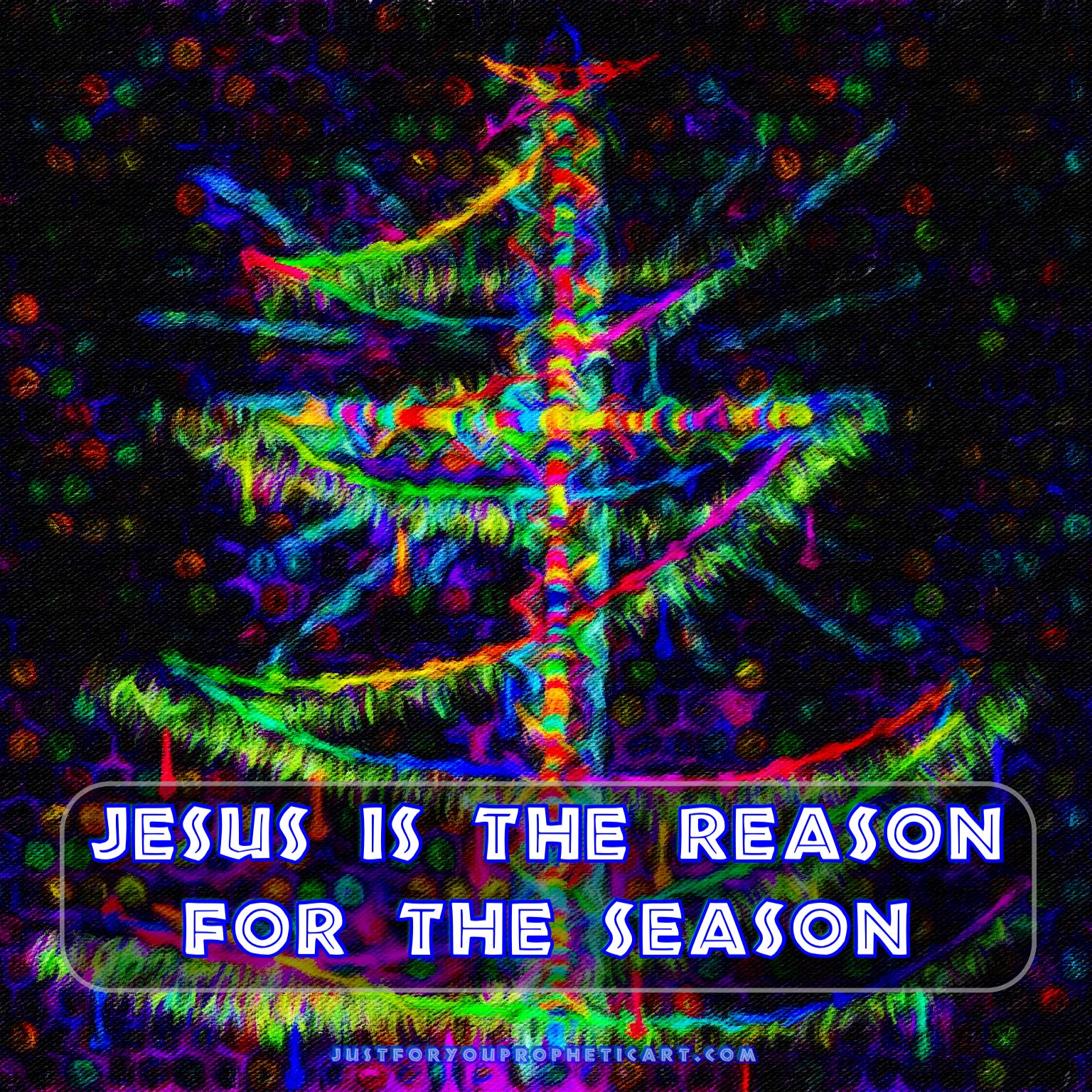 Jesus is the Reason for the Season! Merry Christmas! Cross in ...