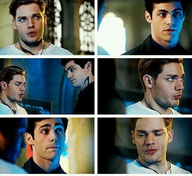 Jace and Alec. Parabatai - Shadowhunters 2x14