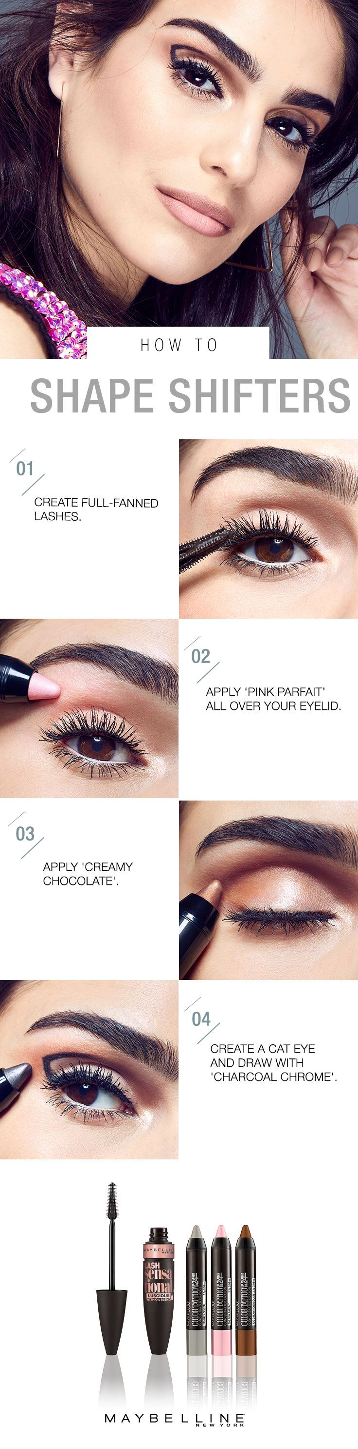 Tips to sensational summer skin - This Summer Kick Off Memorial Day Weekend By Highlighting Your Features Start With Maybelline Lash Sensational Luscious Mascara Infused With Precious Oils