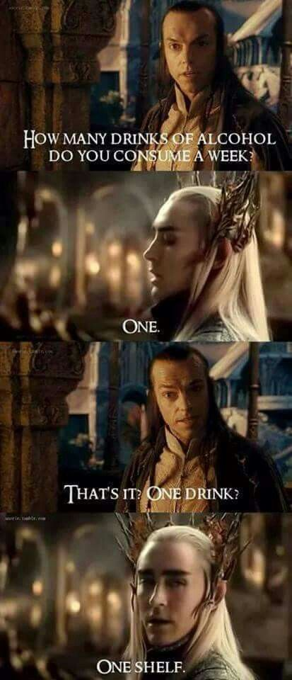 Elrond Quotes: #Thranduil #Elrond #funny
