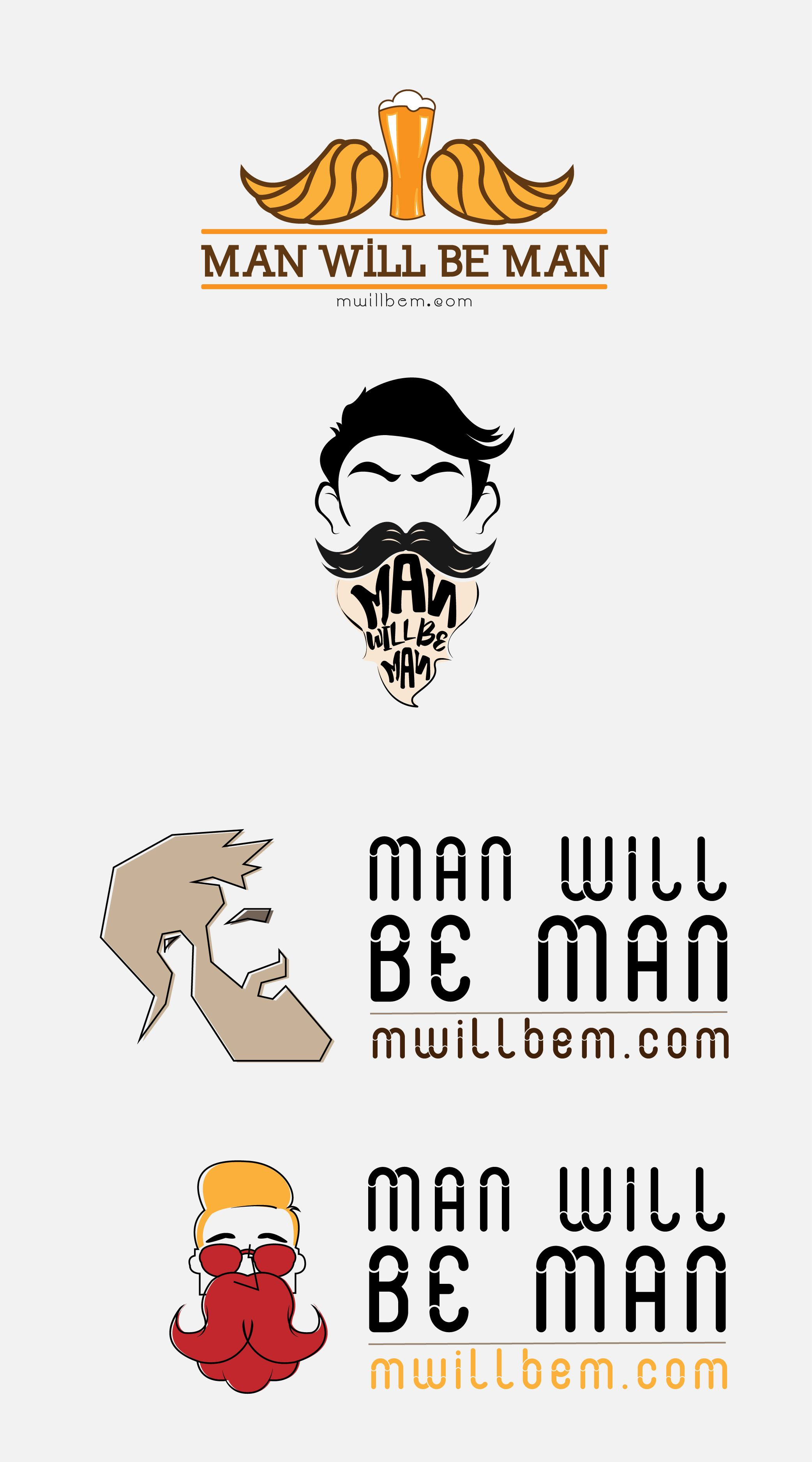 Project name Man will be man Url Logo