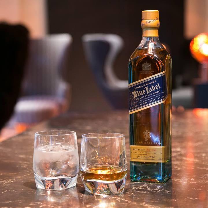 how to drink johnnie walker blue