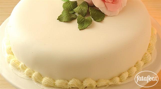 عمل عجينة السكر Cake Fatafeat Sweets