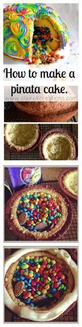 Photo of Limetten-Macadamia-Pinata-Kuchen – Partyidee für B-Tage (Mädchen) – #day #Girl…