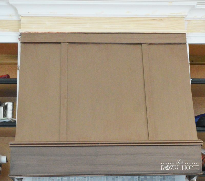 Builder Grade To Bronze Beauty Diy Bronze Range Hood Kitchen