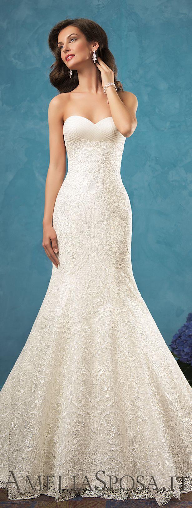 50 Fabulous Sweetheart Wedding Dresses   Amelia sposa, Sweetheart ...