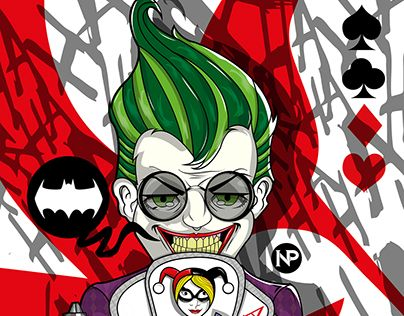 "Check out new work on my @Behance portfolio: ""joker""…"