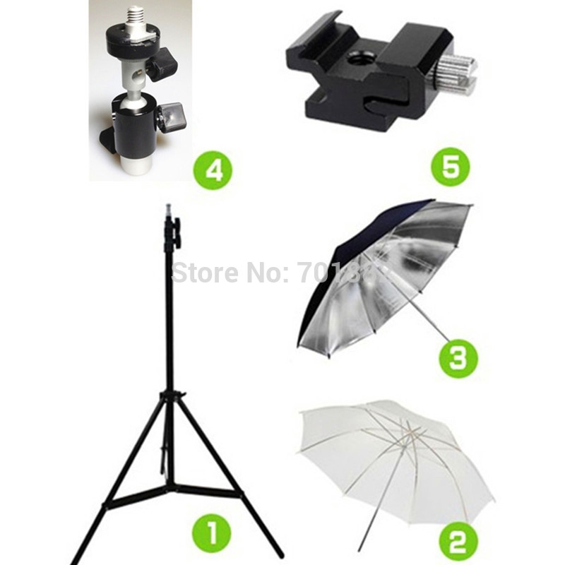 36.85$  Watch here - 5in1 Studio Photography Kit Light Stand Tripod + Swivel Flash Bracket + 33 inch Soft and Reflective Umbrella + Cold Shoe Adapter  #buyininternet