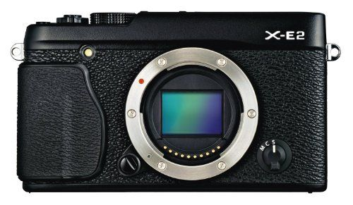 Fujifilm X-E2 Mirrorless Digital Camera (Black Body Only) - International Version (No Warranty) * Read more reviews of the product by visiting the link on the image.
