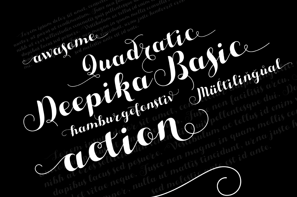 Download Deepika Typeface | Typeface, Typography fonts, Typography