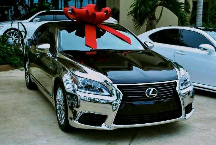 Chrome Lexus LS