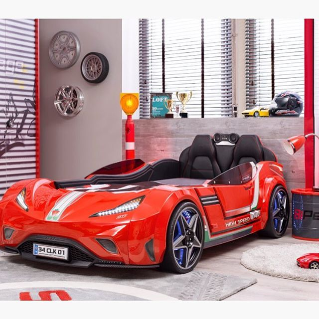 Such an awesome lifelike sports car bed! Credit to Turbo