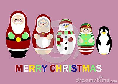 Santa Russian Doll Christmas Card Free Public Domain Cc0 Image Christmas Card Pictures Christmas Cards Free Christmas Cards