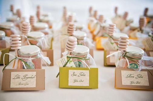 Northwest Inspired Wedding Favor Ideas Wedding Gifts For Guests Themed Wedding Favors Honey Wedding Favors