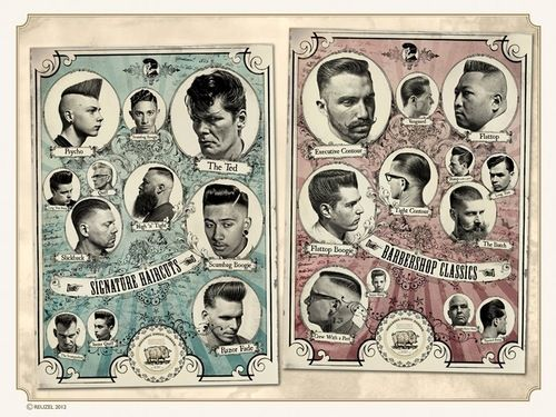 #classic #barber #haircut At Los Angeles Vikthebarber✂