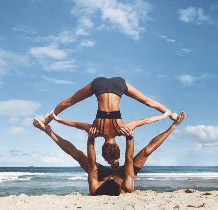 33 Ideas Fitness Couples Pictures Yoga Poses #fitness