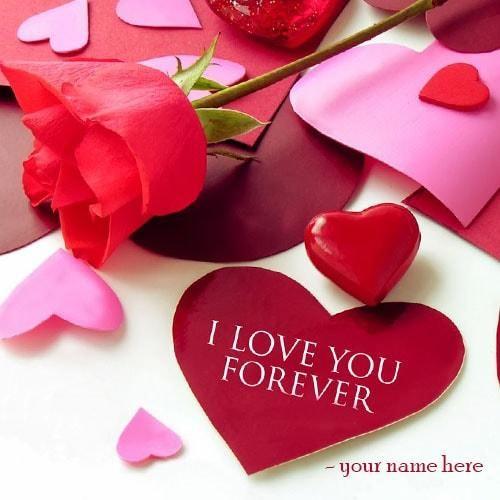 print name on i love you heart images. write name i love u images with red rose. name on heart ...