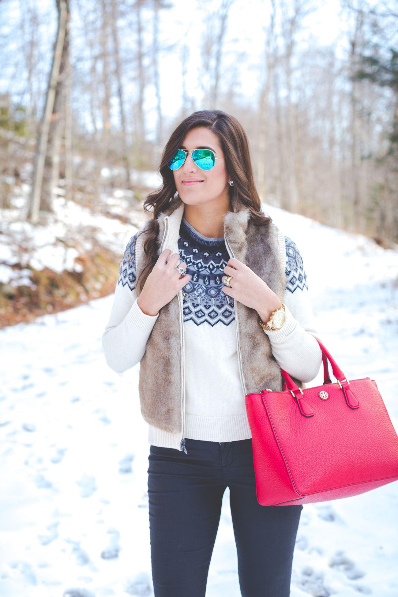 Reversible Faux Fur Vest | Faux fur vests, Fur boots and Winter style