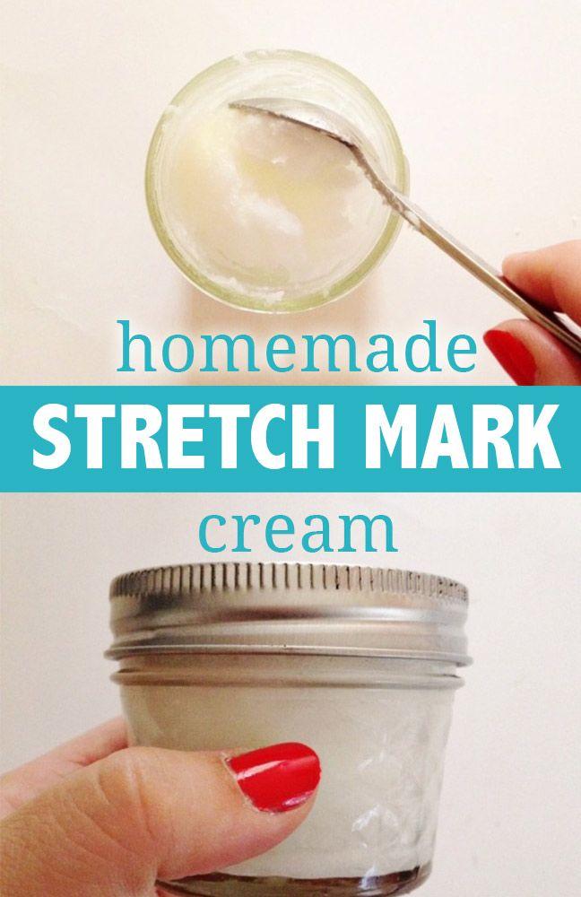 Homemade Stretch Mark Cream Diy Stretch Marks Cream Stretch