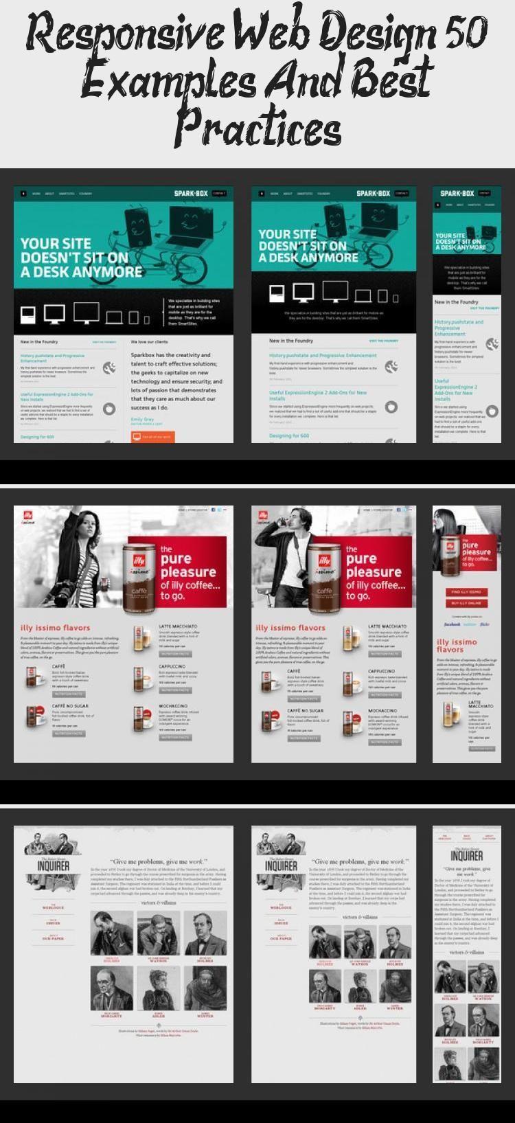 Responsive Web Design 50 Examples And Best Practices Design Design Examples Practices Responsive Web En 2020