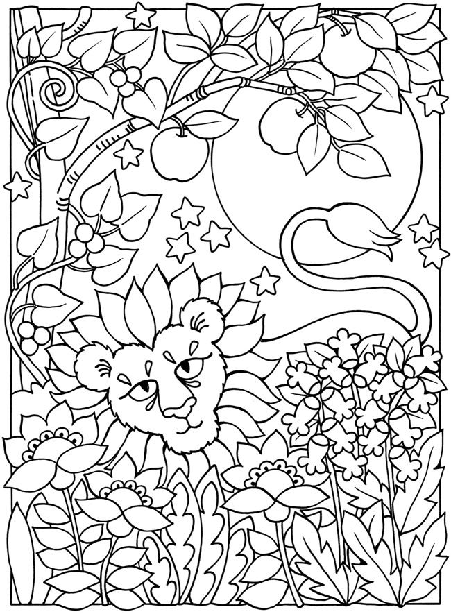 Welcome to Dover Publications | Adult Coloring Therapy-Free ...