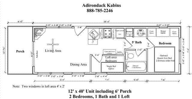 Cabin Floor Plans cape cod recreational cabin floor plans 12 X 40 Cabin Floor Plans Google Search